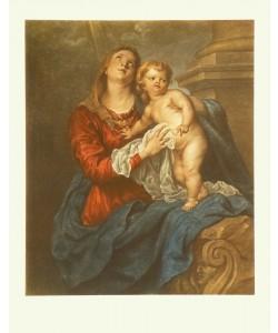 Anthonis Dyck van, Maria mit dem Kinde