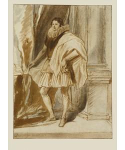 Anthonis Dyck van, Portrait eines Edelmannes