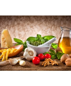 Antonio Gravante, Ingredients for Pesto