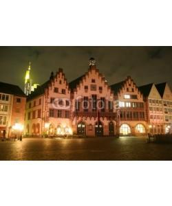 anweber, Frankfurt am Main, Römer und Römerberg bei Nacht