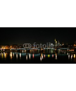 anweber, Skyline of Frankfurt and river Main, Germany
