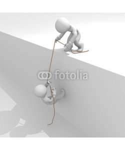 Andreas Berheide, Helping hand, strong together, 3d image