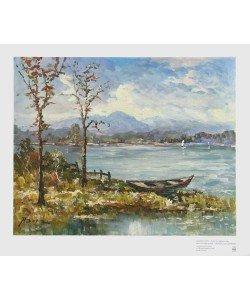 Andreas Betz, Herbst am Seehamer See (Tiefdruck)