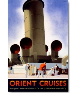 Andrew Johnson, Orient Cruises