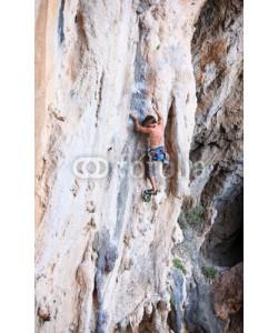 Andrey Bandurenko, Rock climber on a cliff