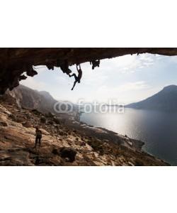 Andrey Bandurenko, Rock climbers, Kalymnos Island, Greece