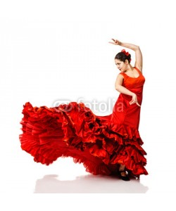 Andy-pix, young woman dancing flamenco