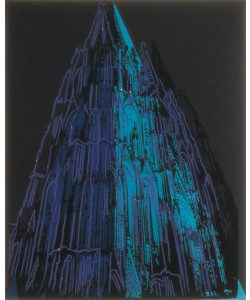 Andy Warhol, Cologne Cathedral (blue)