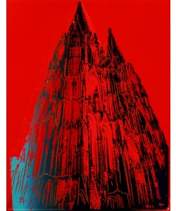 Andy Warhol, Cologne Cathedral (red)