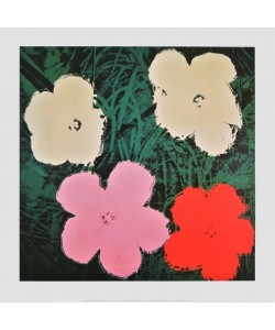 Andy Warhol, Flowers III