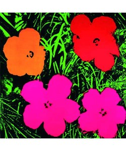 Andy Warhol, Flowers red, o.r.