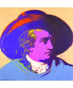 Andy Warhol, Goethe red face
