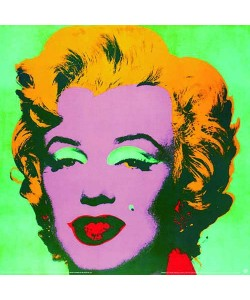 Andy Warhol, Marilyn turquoise