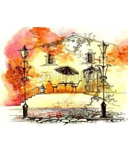 ankdesign, autumn street lights (series C)