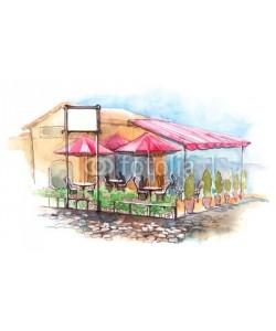 ankdesign, cafe on terrace