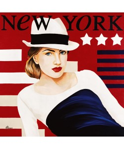 Anne Bernard, Femme New York