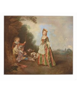 Antoine Watteau, Der Tanz