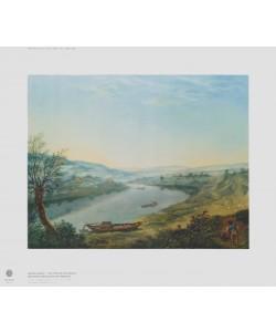 Anton Graff, Die Elbe bei Blasewitz oberhalb Dresdens am Morgen
