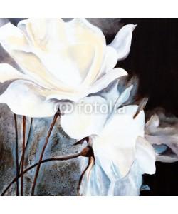arsdigital, Ölbild: Weiße Rosen