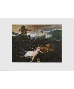 Arnold Böcklin, Im Spiel der Wellen