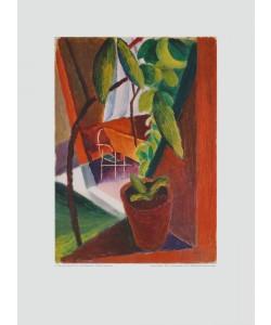 August Macke, Blick ins Gartenhaus