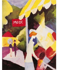 August Macke, Modefenster