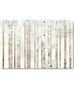 Avery Tillmon, Birch Trees on White