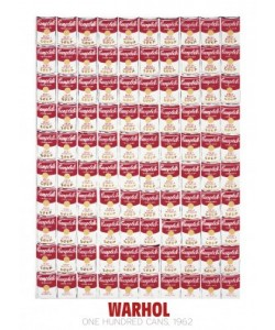 Andy Warhol, One Hundred Cans, 1962