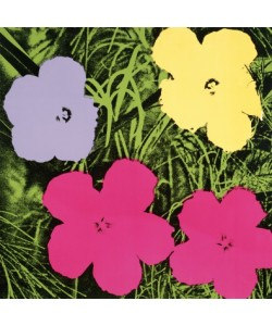 Andy Warhol, Flowers C. 1964