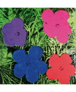 Andy Warhol, Flowers C. 1984