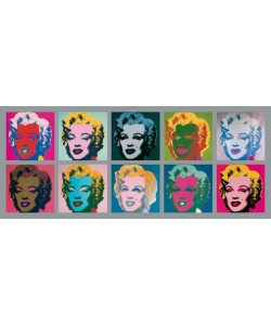 Andy Warhol, Ten Marilyns, 1967