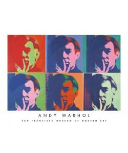Andy Warhol, A Set of Six Self-Portraits