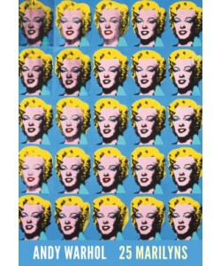 Andy Warhol, 25 Colored Marilyns