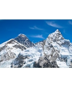 axel, Everest and Lhotse mountain peaks view from Kala Pattar, Nepal
