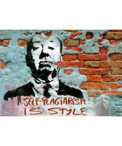 Edition Street Art, Self-Plagiarism is style