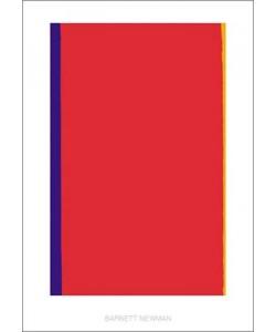 Barnett Newman, Who's afraid of Red,…. 1966 (Büttenpapier)