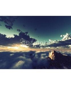 B@rmaley, beautiful view above clouds