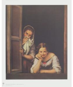 Bartolomé Esteban Murillo, Mädchen und Zofe