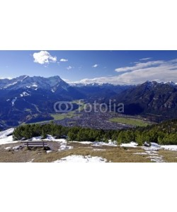 Bergfee, Garmisch - Partenkirchen mit Zugspitze und Alpspitz