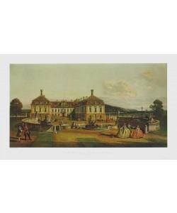 Bernardo Canaletto, Lustschloß Schloßhof im Marchfeld