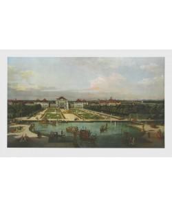 Bernardo Canaletto, Schloß Nymphenburg vom Park aus