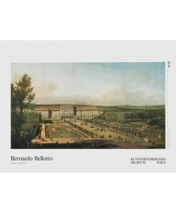 Bernardo Canaletto, Schloß Schönbrunn - Gartenseite