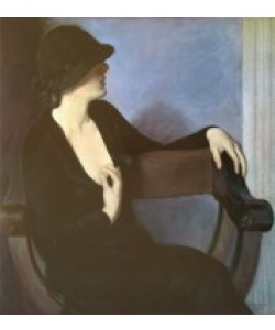 Bernhard Gutmann, Lady in Black
