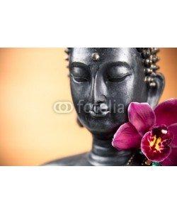 Beboy, Bouddha et fleur d'orchidée