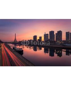 Beboy, Paris sunrise / Paris lever de soleil