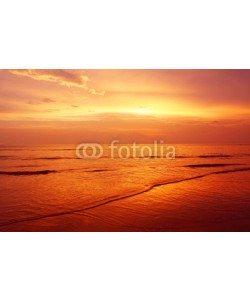 bennyartist, twilight seascape at karon beach thailand