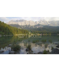 Bergfee, Eibsee und Zugspitze