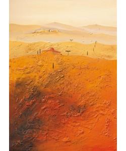 Bernhard Gerner, Mediterrane Landschaft 1