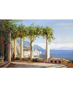 Carl Frederic Aagaard, Amalfi del Convento die Capuccini