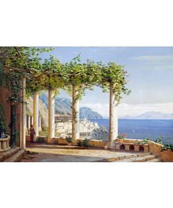 Carl Frederic Aagaard, Amalfi del Convento die Capuccini